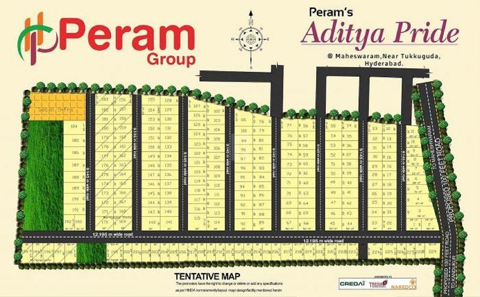 Peram Aditya Pride - Master Plans
