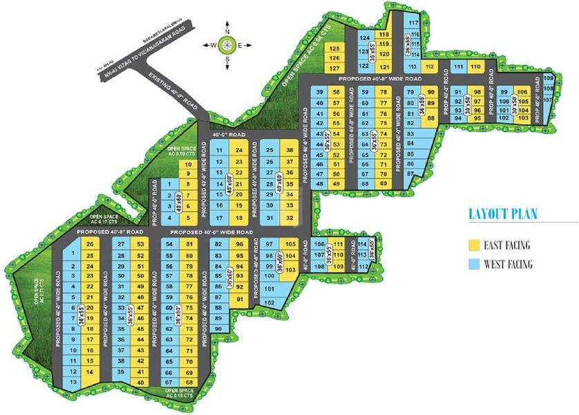 Charan Temple Tree Meadows - Master Plans