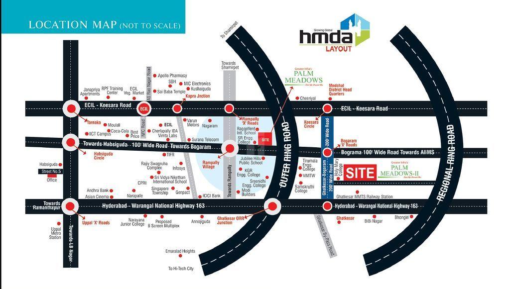 Palm Meadows 2 - Location Maps