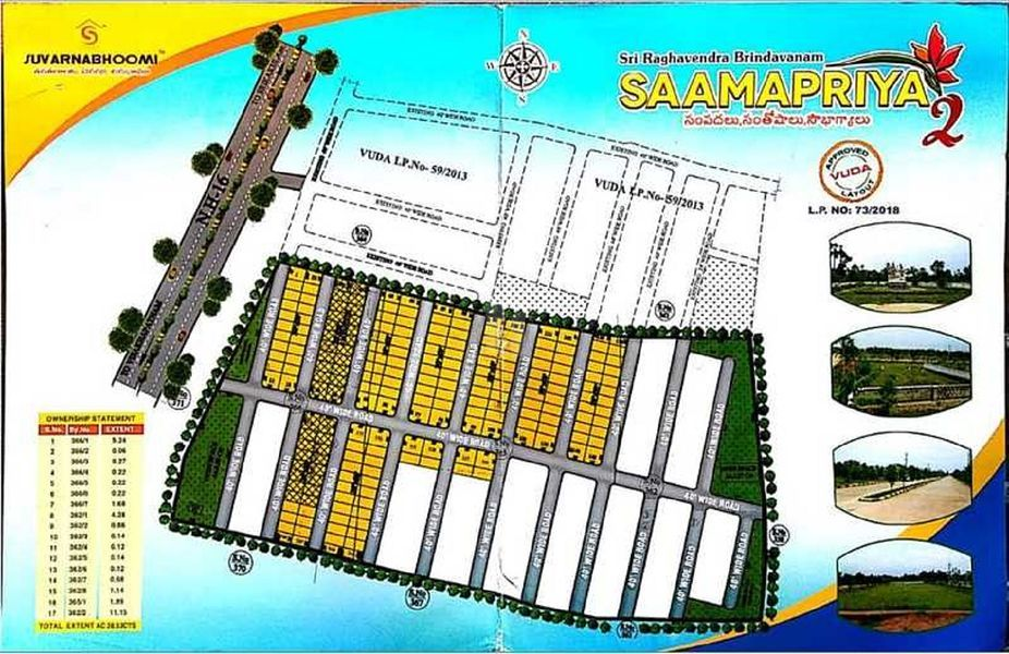Suvarnabhoomi Samapriya 2 - Master Plans