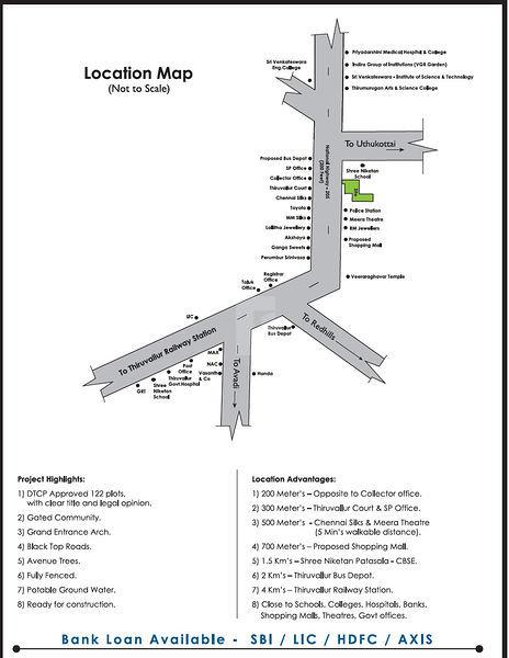 Sambantham Graden - Location Maps