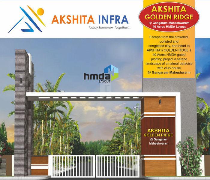 Akshita Golden Ridge - Project Images