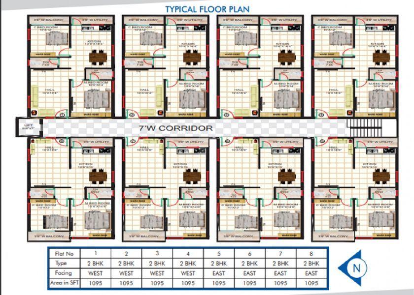 Elite Bliss - Floor plan