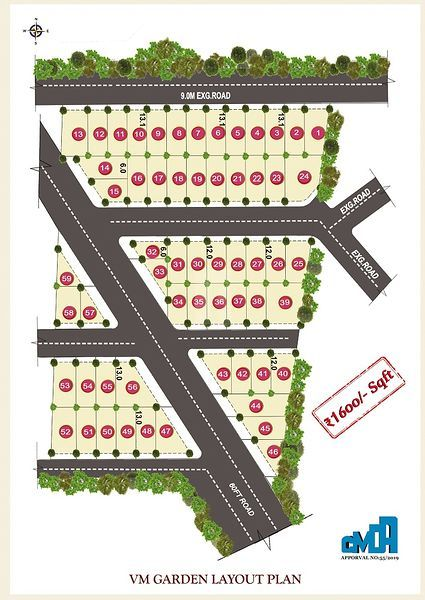 VM Garden  - Master Plans