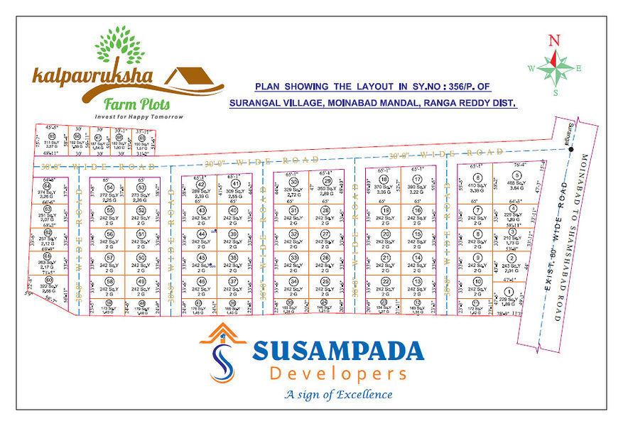 Susampada Kalpavruksha Farm Plots - Master Plans