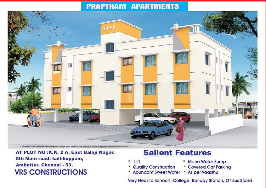 VRS Praptham Apartments - Project Images