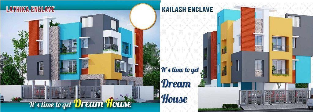 Vishnu Lathika & Kailash Encalve - Project Images