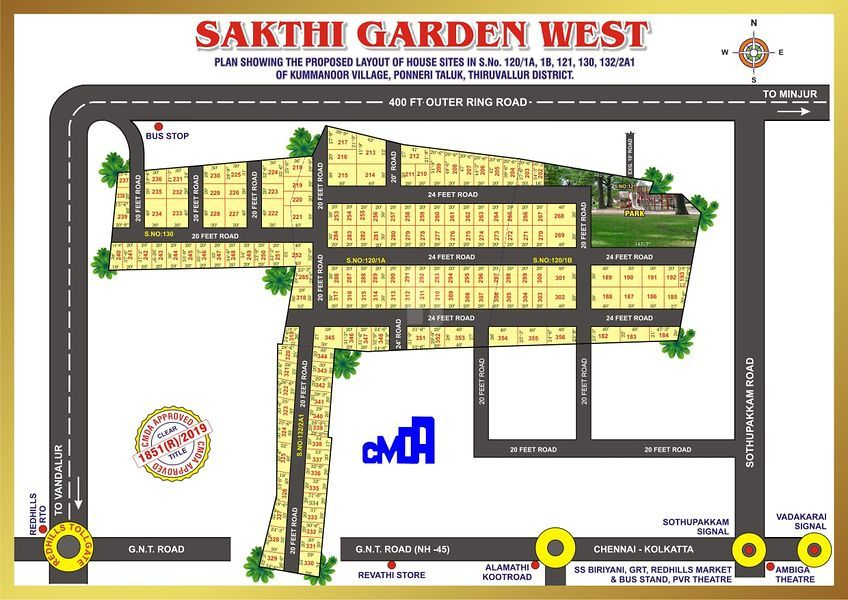 SAKTHI GARDEN - Master Plans