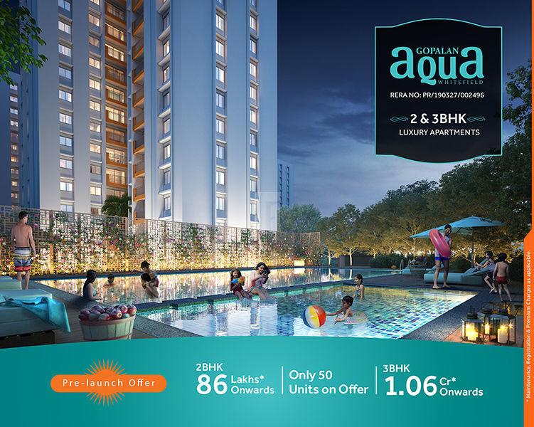 Gopalan Aqua - Project Images