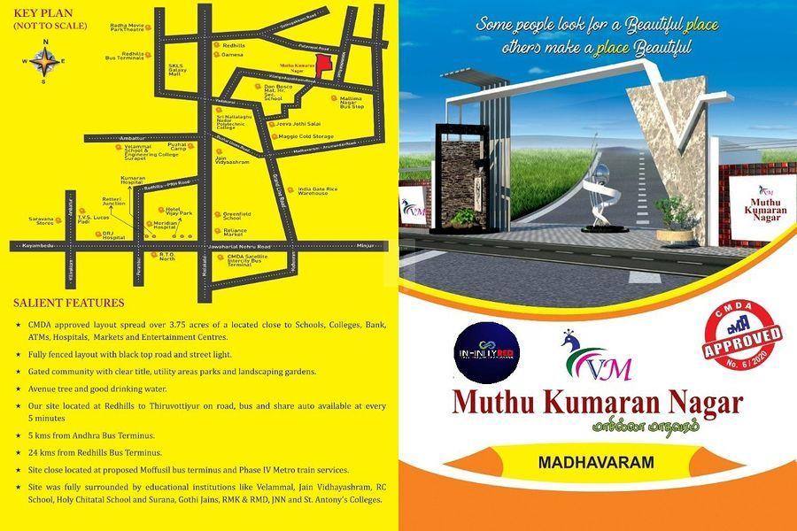 Freedom Muthukumaran Nagar - Master Plans