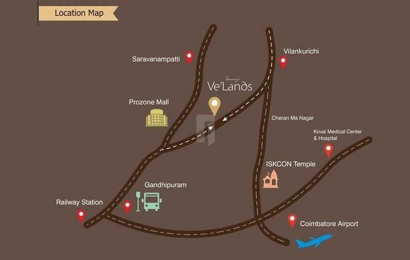 Tanny's Ve'Lands - Location Maps