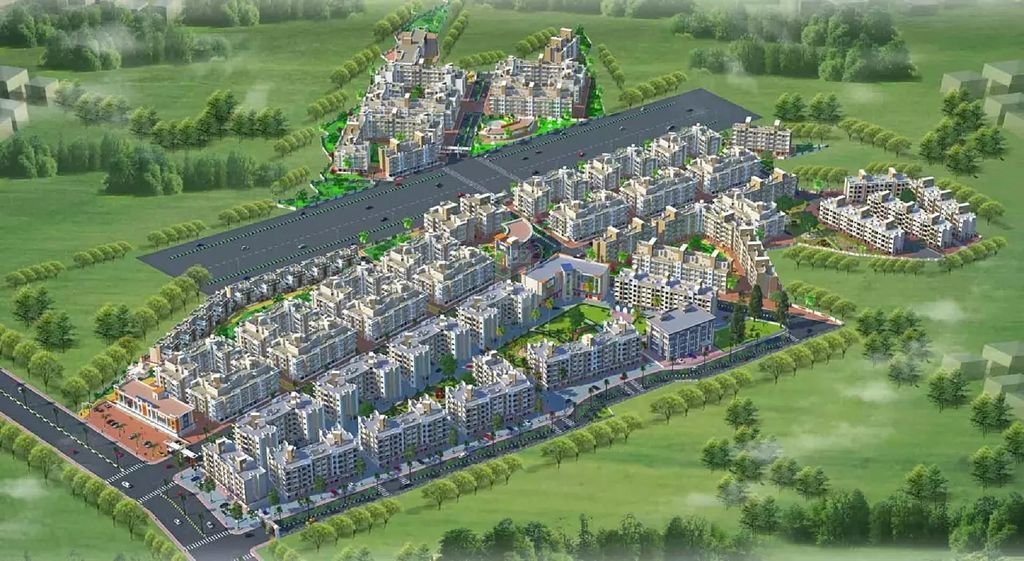 Raj Shree Nirman Gokuldham Zone 2 - Project Images