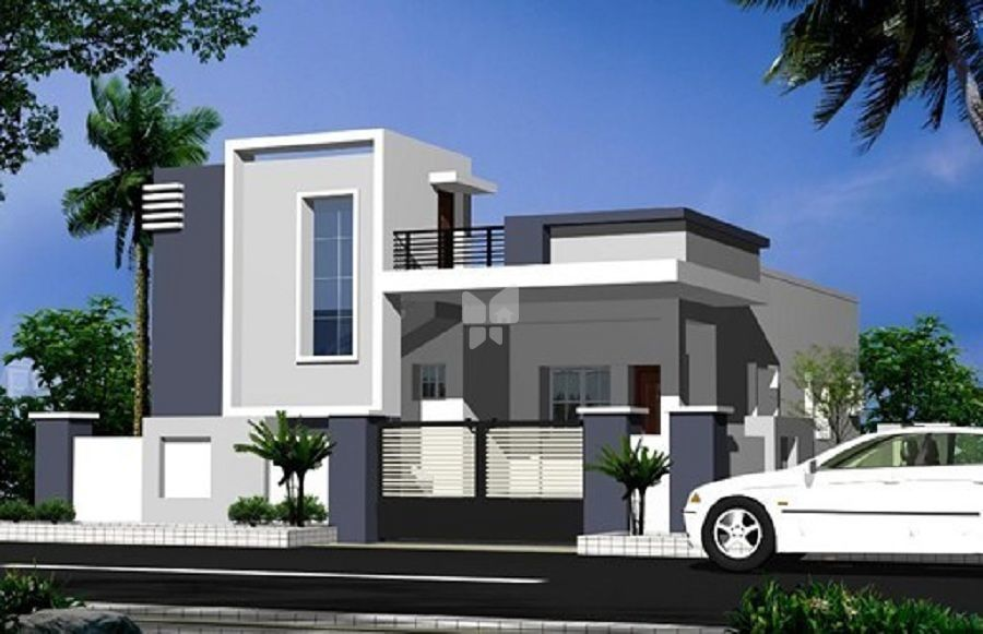 N Single Home Elevation : Slaghika developers in beeramguda hyderabad