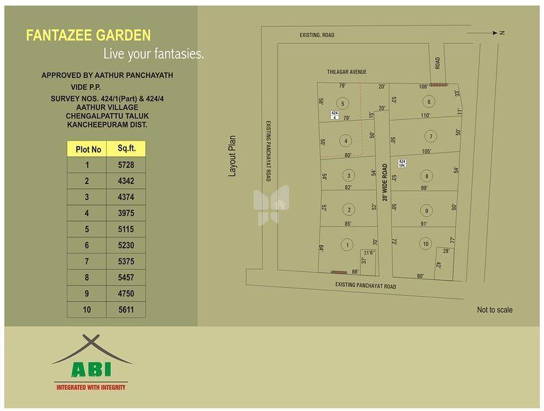 ABI Fantazee Garden - Master Plans