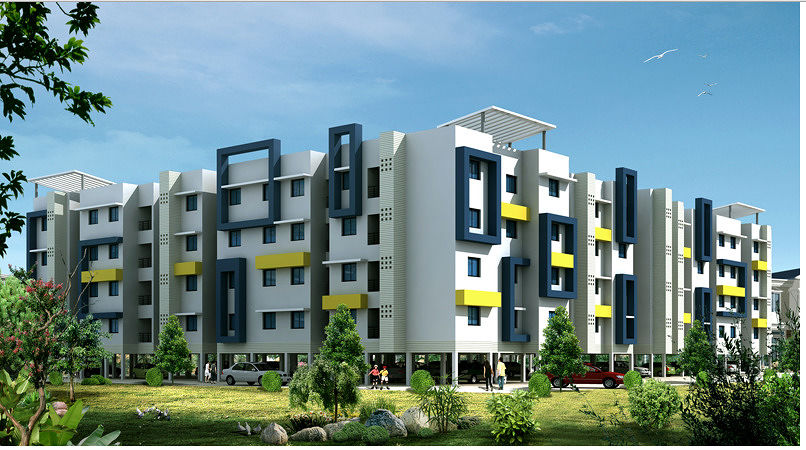 Mangalam Moonlight - Elevation Photo
