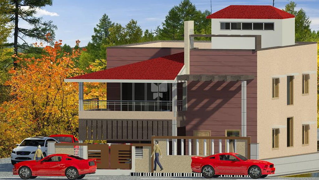 Venkat Sarath Villa - Elevation Photo