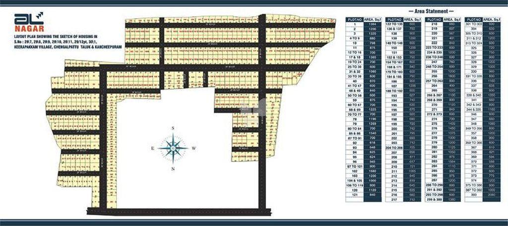 JHL AL Nagar - Master Plan