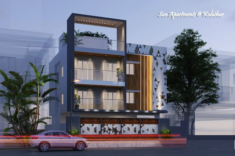 Vishnu Sun Apartments - Project Images