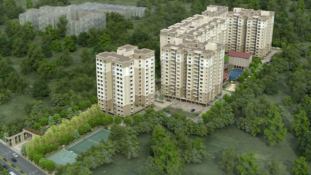 Sobha Meritta - Elevation Photo