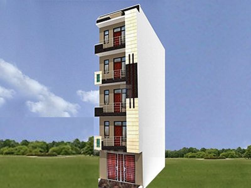 Pahwa Nehru Apartment - Elevation Photo