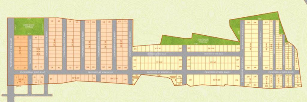 RK's Green Valley 5 - Master Plan