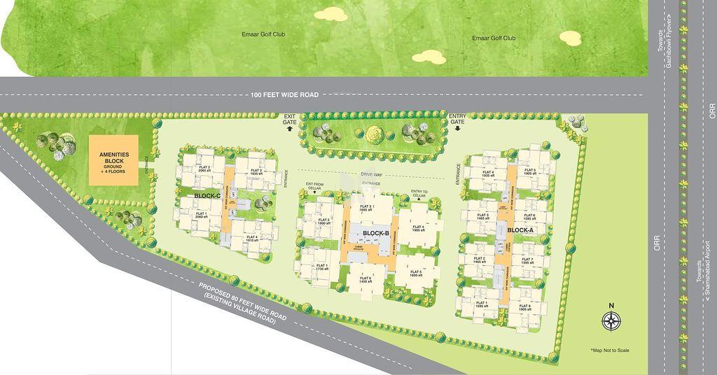 Alekhya Palm Woods - Master Plan
