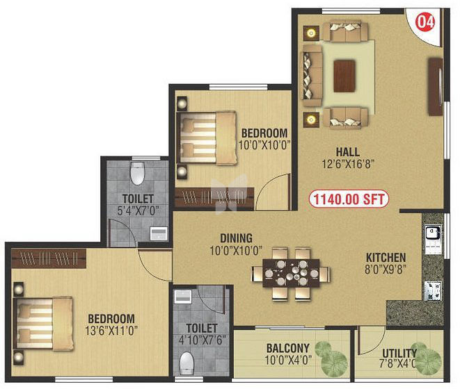 NR White Rose in HSR Layout Sector 1, Bangalore - Price, Floor Plans ...
