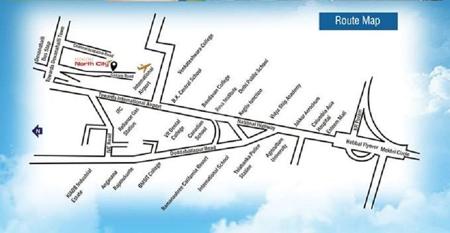 Hindh North City - Location Maps