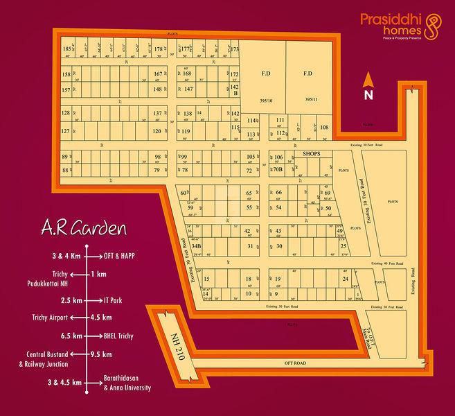 Prasiddhi A.R.Garden - Master Plans
