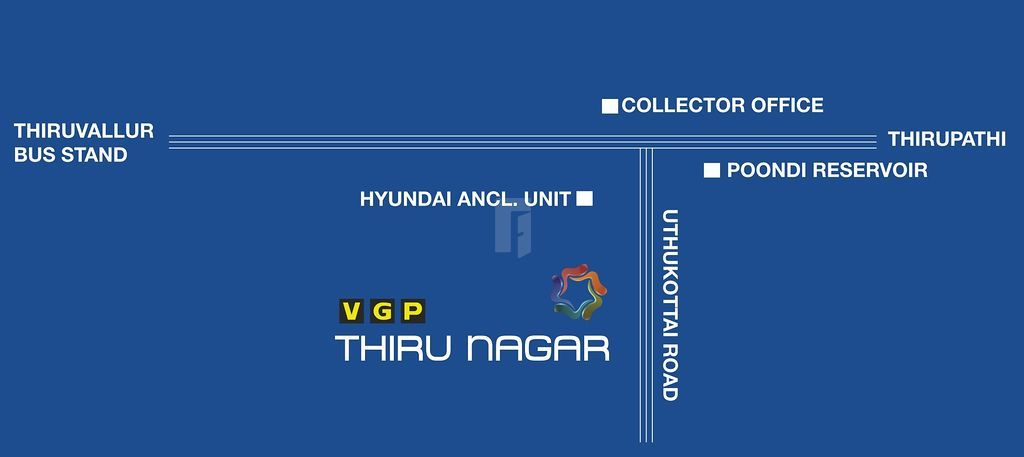 VGP Thirunagar - Location Map