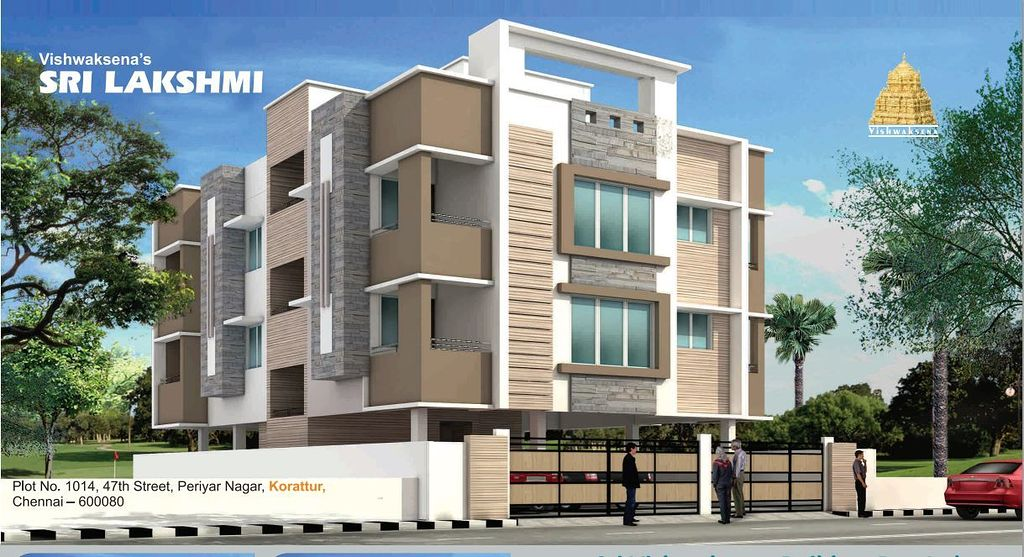 Vishwaksena 39 s sri lakshmi in korattur chennai price for Apartment design guide sepp 65