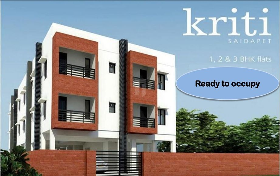 Kriti Saidapet - Elevation Photo