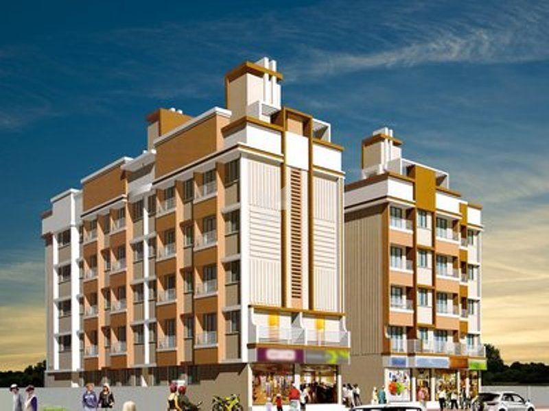 Bharat Vandan Apartment - Elevation Photo