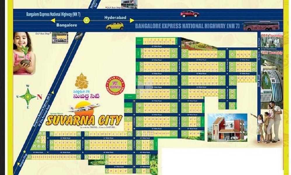 Suvarna City Phase IX Highway Facing - Master Plan