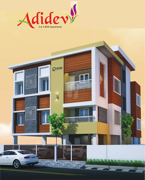 Adhidev Flats - Elevation Photo
