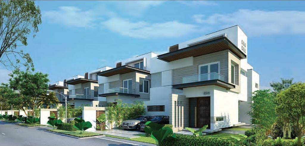 Green Space Fort View Villas in Manikonda, Hyderabad ...