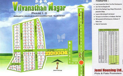 jemi-vilvanathan-nagar-in-arakkonam-master-plan-mzp