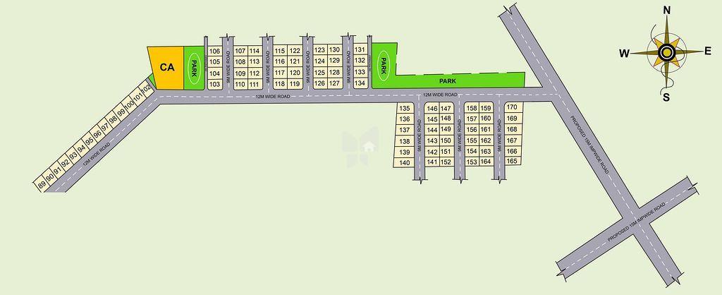 Srika Alpha Homes - Master Plans