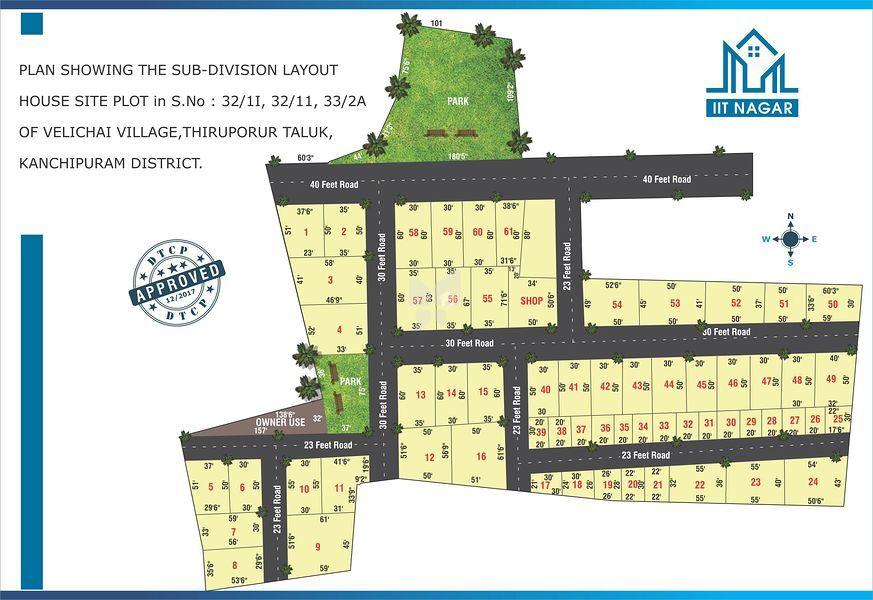 Vanavil Estate IIT Nagar - Master Plans