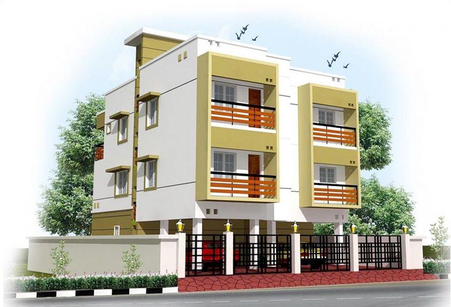 Amudhas SSR Pankajam Aabharana - Elevation Photo