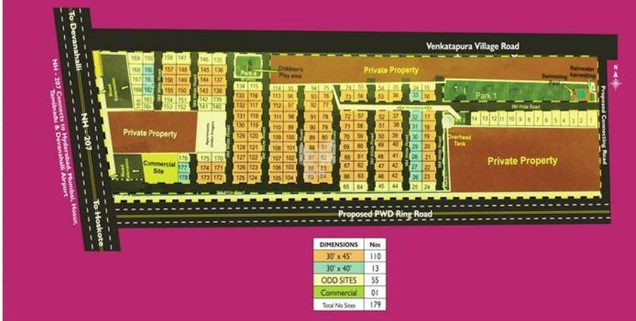Hi Tech Township - Master Plan