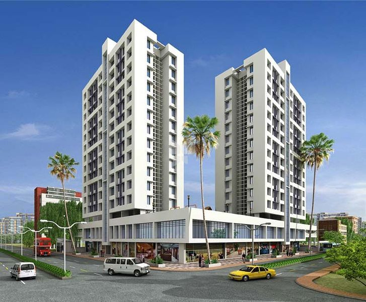 M Baria Twin Tower - Project Images