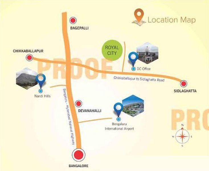 Little Paradise Royal City - Location Maps