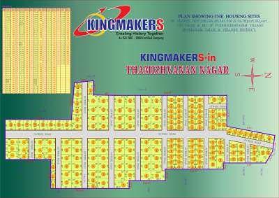 Kingmakers Thamizhvanan Nagar - Master Plan