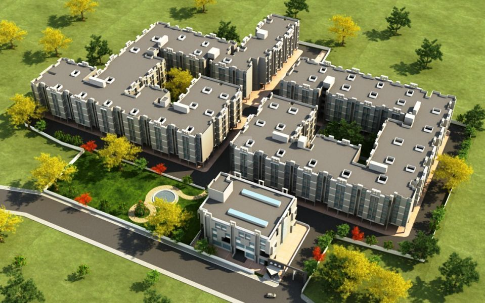Shantiniketan Altair - Elevation Photo