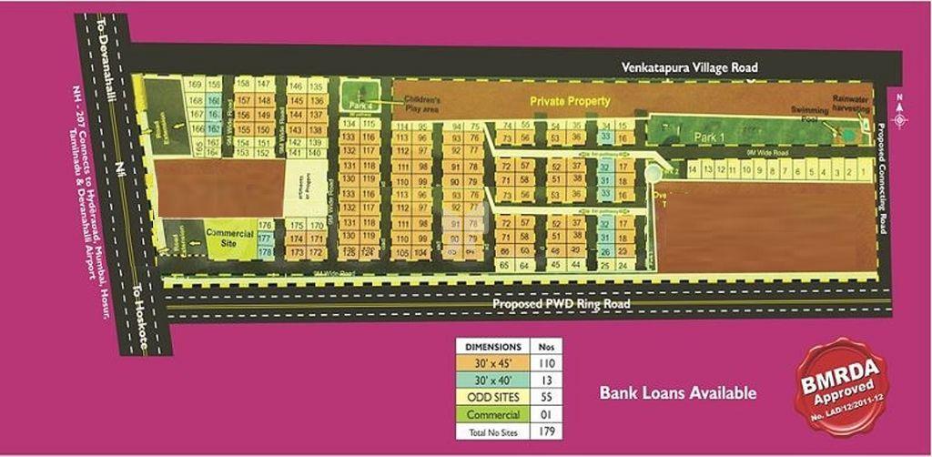 Tekton Hi Tech City - Master Plan
