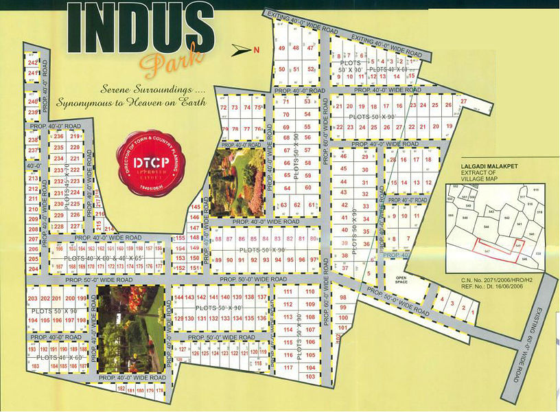 Indus Park - Master Plans