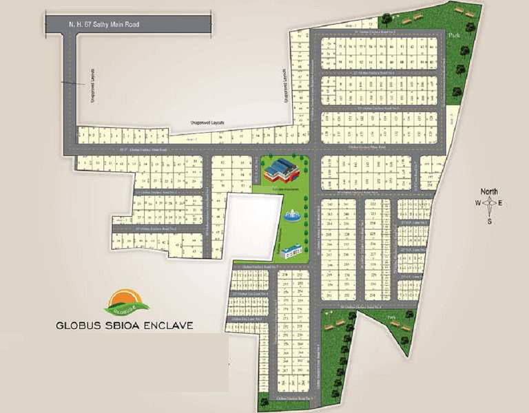 Globus Sbioa Enclave - Master Plans