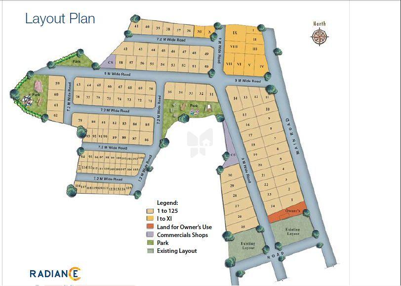 Radiance Sudharma - Master Plan