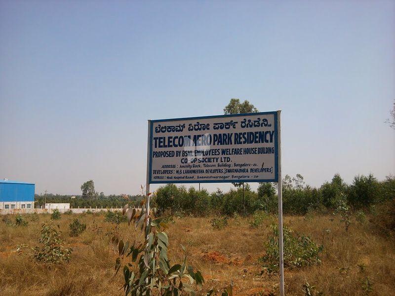 BSNL Telecom Aero Park Township - Project Images